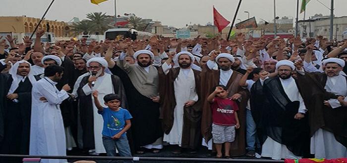 مظاهرات شهداء القديح 2