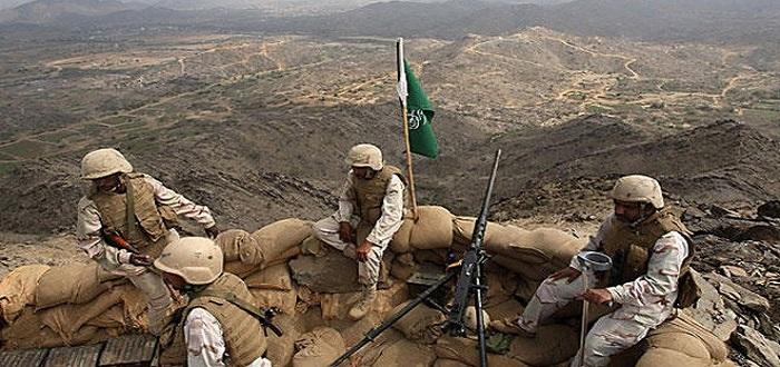 الجنود السعوديون في الحدود السعودية اليمنية. أرشيفية