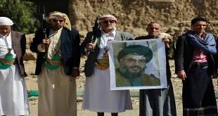 ANP - حوثيون في اليمن يرفعون صورة نصرالله .